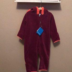 NWT Columbia Sportswear Infant Snowsuit 12-18m